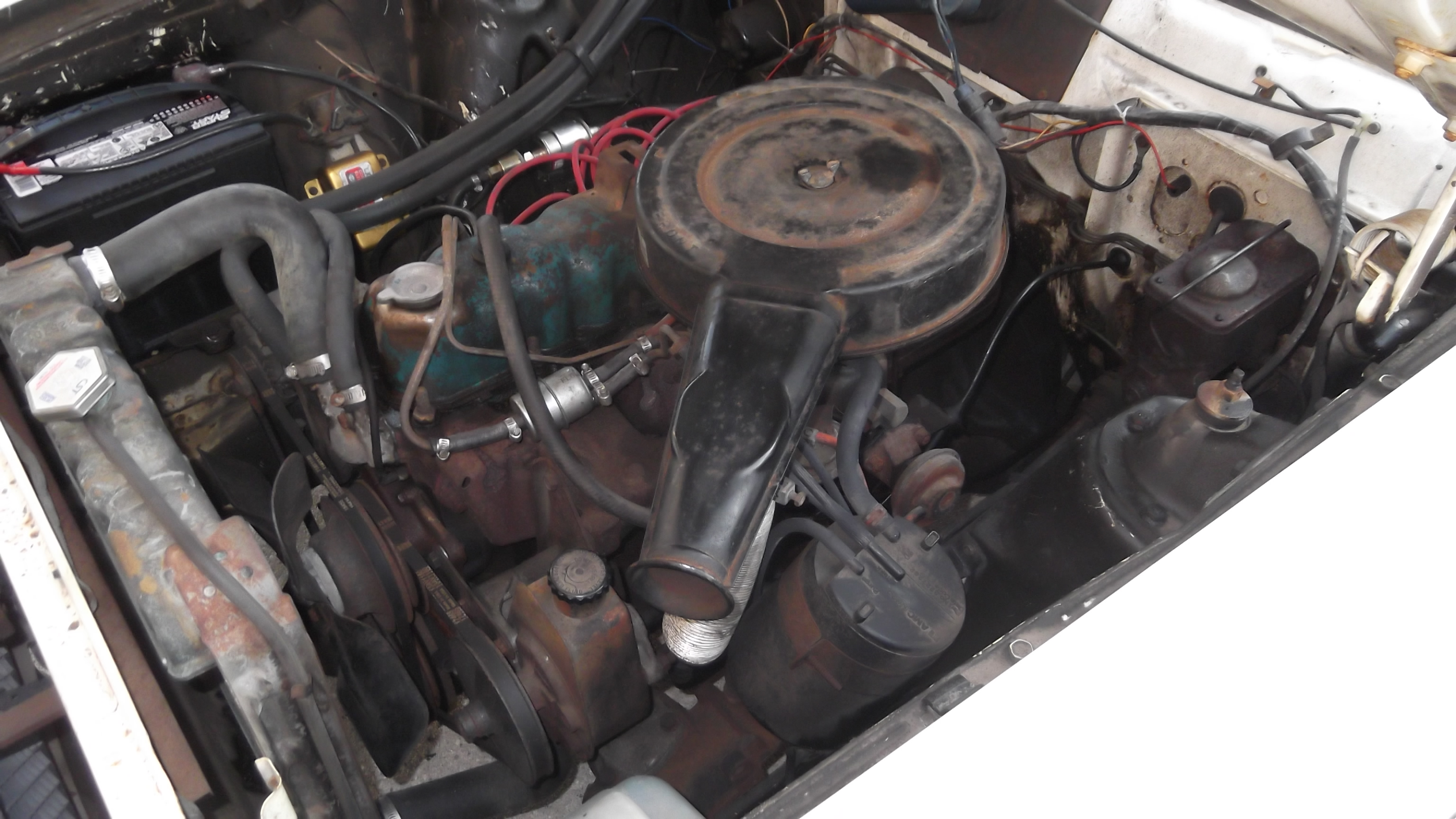 Specializing in complete engine makeovers 1973 maverick 250 6 cyl partial tare down and ready for a custom look sciox Choice Image